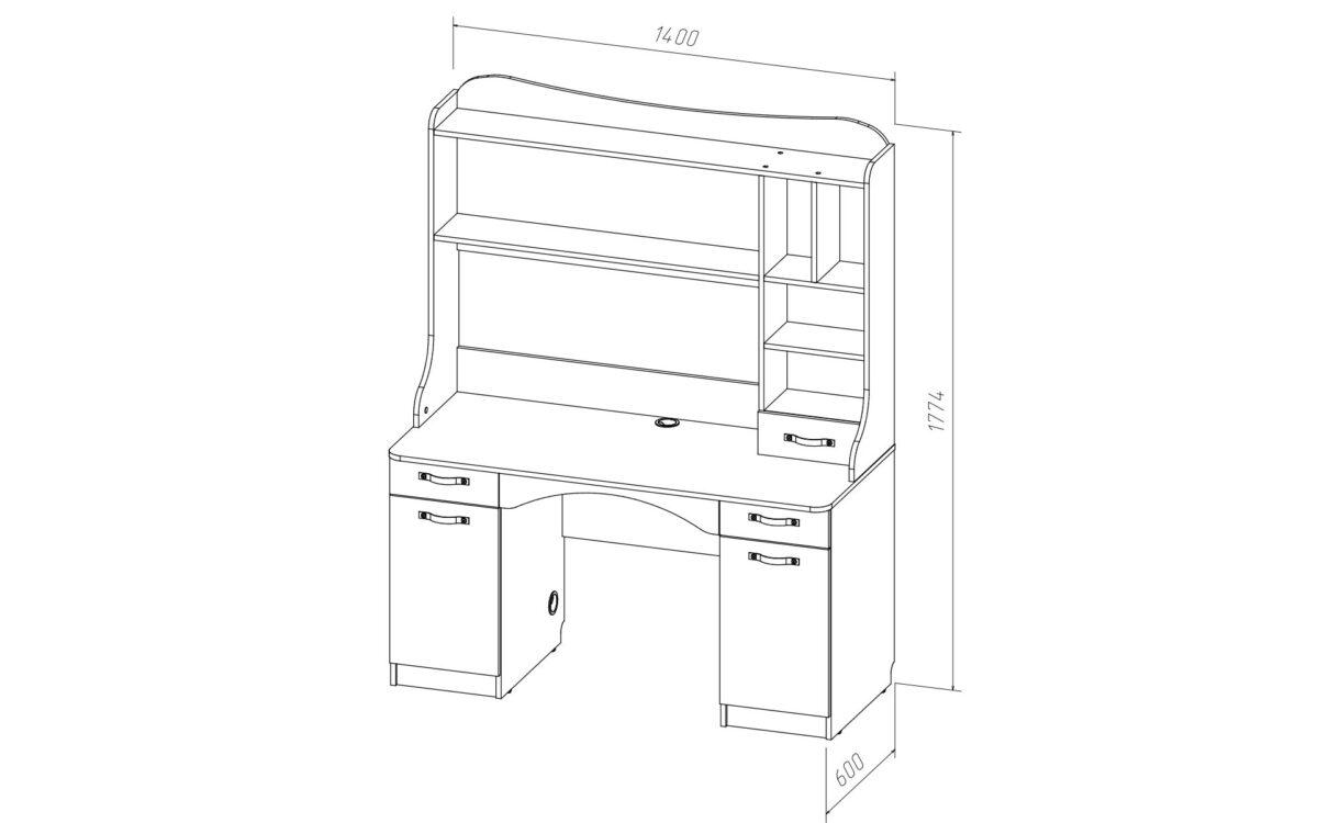 Надстройка стола KORSAR K15