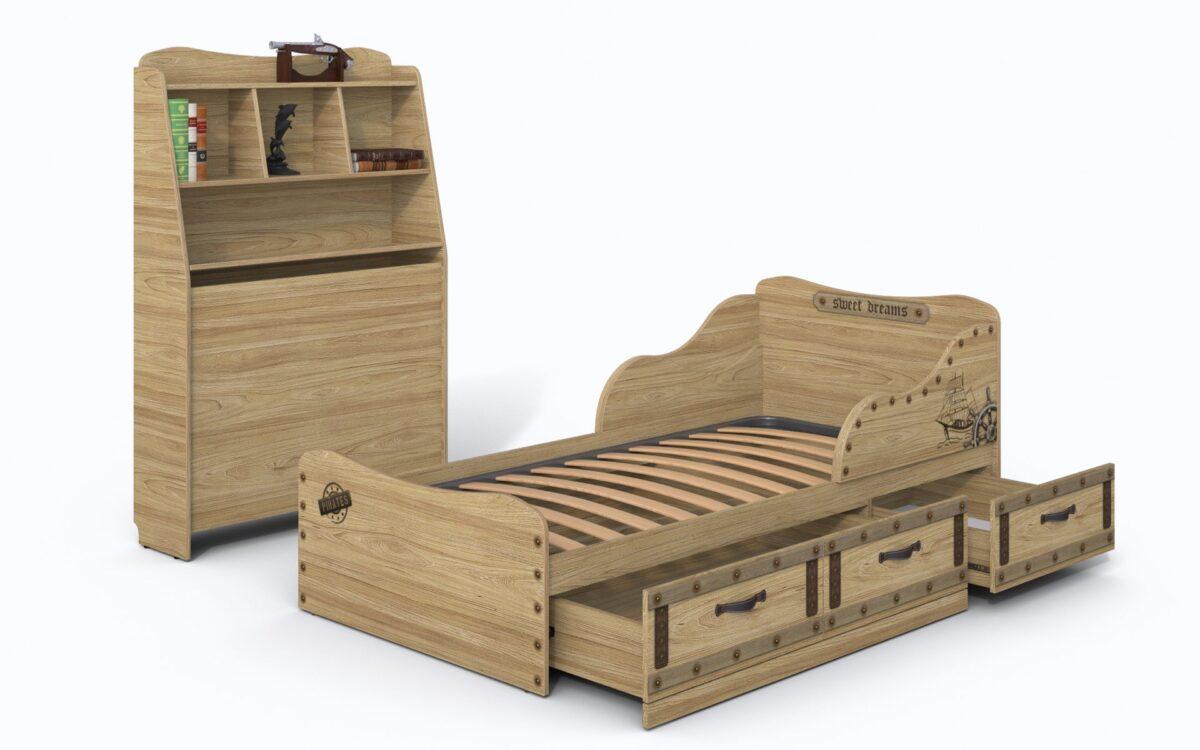 Plaukts gultai KORSAR-3 K4