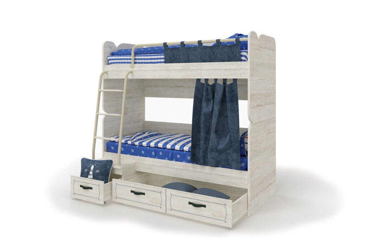 Divstāvu gulta REGATA-6 R3