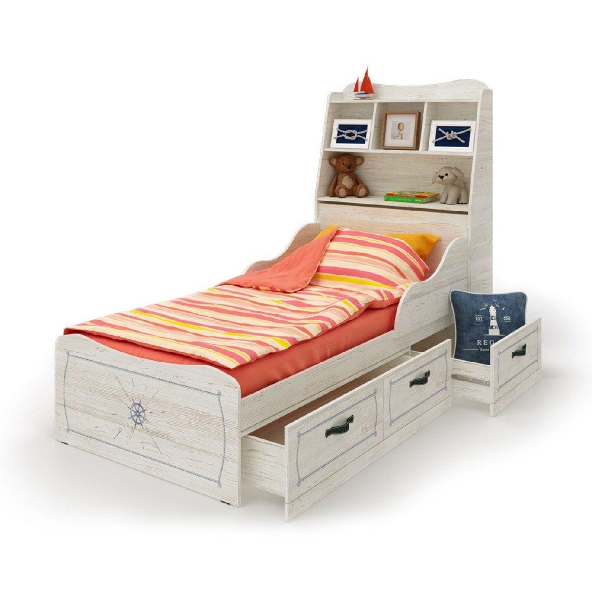 Кровать с изголовьем REGATA