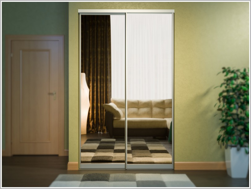 Раздвижные двери для шкафов купе с фурнитурой
