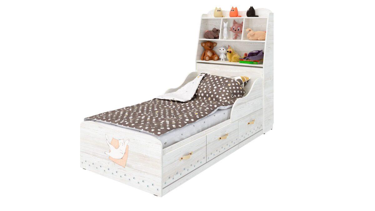 Кровать детская MARVIN 3-1 759/1936/980mm