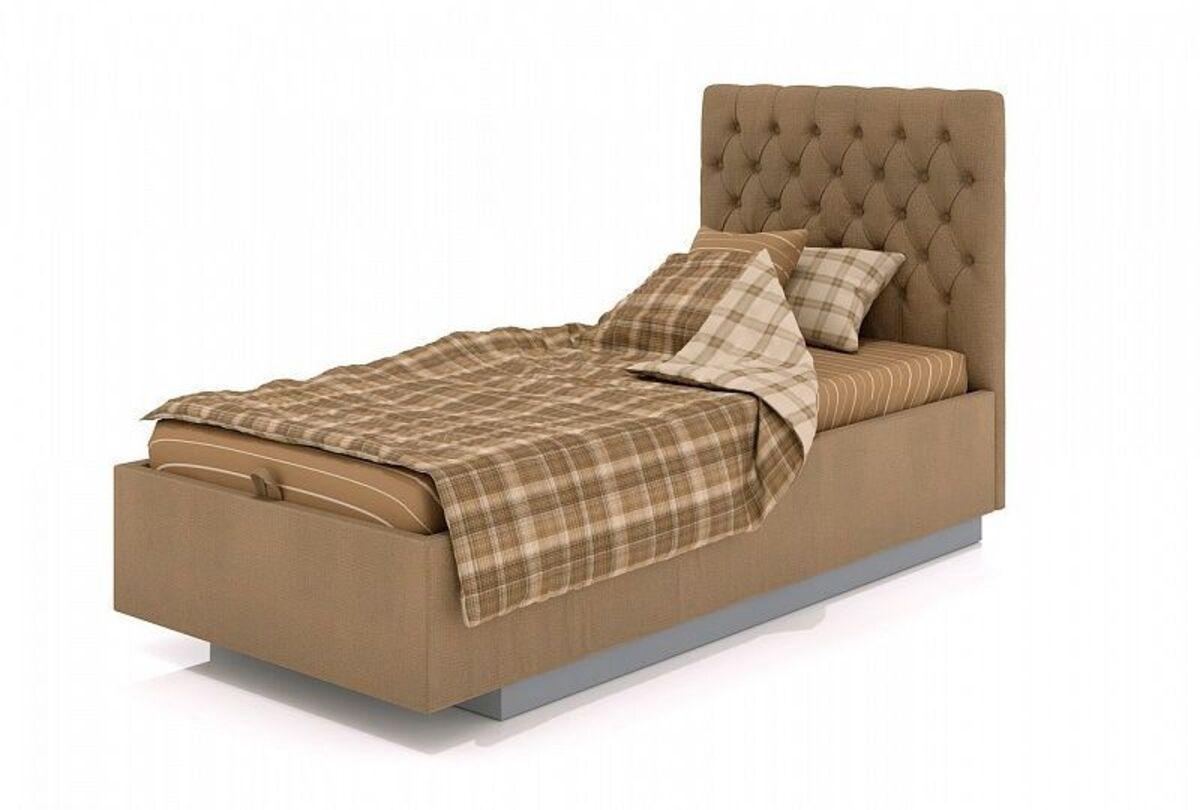 Кровать CITY-1 GLASGOW 56 (90х200cм)